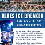 RT @downtownstlouis: Dont miss the party that will break the ice for @StLouisBlues 2014-2015 season! Deets--@BPVSTL Monday (8/25) @ 6p http://t.co/j0gH0lExvH