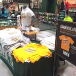 RT @laurenjiggetts: New shipment of #JackieRobinsonWest shirts at @DICKS store in South Loop! All proceeds go to team. http://t.co/ITcioCHPLj
