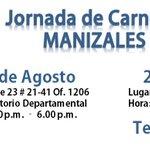 Gran Jornada de Carnetización este 22 y 23 de Agosto en Manizales. @ArturoYepes2014 @luisemiliosg @monicavalenciaa http://t.co/NExr0rltoX
