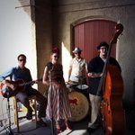 Our #Feast50Fete entertainment - @MissJubilee1 & The Humdingers - warming up. Must-see show! Tix at door! #stl http://t.co/Y0NTrSWH3Q