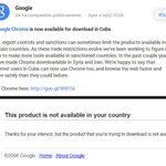 "¿Google Chrome disponible para #Cuba? ""suena"" a #USAIDvsCuba. Sin embargo, la verdad es esta: http://t.co/e0NKBp0pkp http://t.co/DWiI8nxjZd"