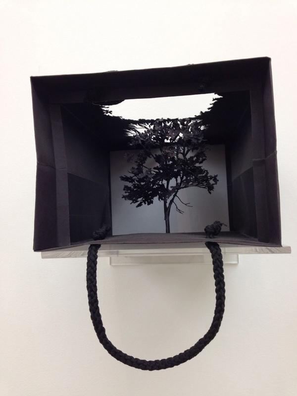 RT @jendyfox: Paper Exhibition Saatchi Gallery #art http://t.co/7brdaeUDbW