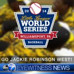 #JRW scores again, up 4-2 over Philadelphia in the bottom of the 1st, 2 outs. LIVE: http://t.co/QSf9BINKon #LLWS http://t.co/zD2Dpw7gdA