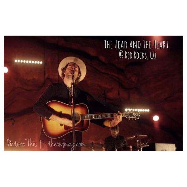 The @headandtheheart leave Colorado breathless after their @RedRocksOnline performance in CO! http://t.co/uteyHLOjXT http://t.co/Ump43Nfa8h