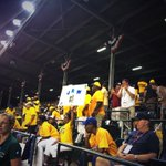 RT @leahhopeABC7: Chicago up to bat! Chicago fans in the stands. 6-4 Chicago #LLWS2014 http://t.co/qRcn03TdkO