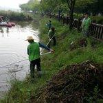 RT @pja1052: @Jaemyung_Lee @seongnamcity 율동공원 호수 집중호우시 떠내려온 쓰레기를 공원과 직원들이 치우고 있습니다. 전직원 탄천정화 활동중인데 모두 수고하십니다!! http://t.co/3LvhVLG5W0