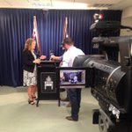 Chief Minister Adam Giles about to give a media conference about a suspected reshuffle @SkyNewsAust http://t.co/kuBYurBZ3I