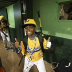 RT @amandakaschube: Thumbs up from Jackie Robinson Wests D.J. Butler. Zoinks. (Via @NuccioDiNuzzo) #JRW http://t.co/LQPopL5V1U