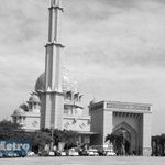 """""""@hmetromy #takziahMH17 Jenazah Ahmad Hakimi & Nur Shazana akn disembahyangkan di Masjid Putrajaya. Pix @gaddafimusli http://t.co/xHX1A5Vrh8"""