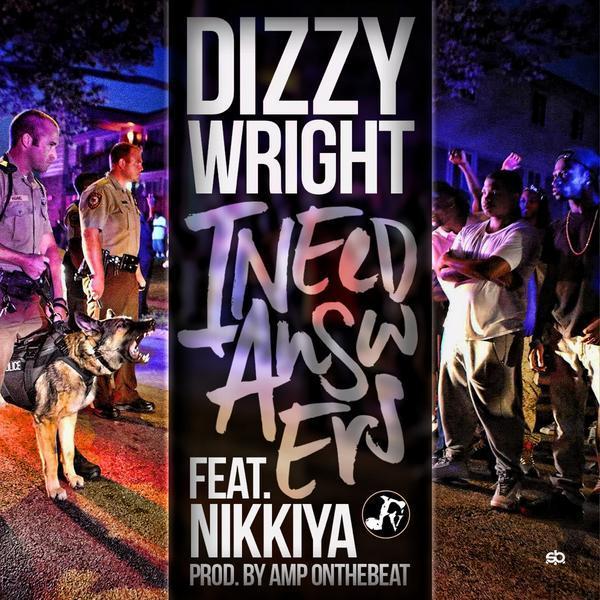 Dizzy on one in this one....  @DizzyWright ft. @nikkiya  #iNeedAnswers  1 hour http://t.co/FBihkUyGDJ