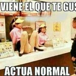 RT @Caleb1335: #LasMinasSonMasRicasCuando actúan normal ! http://t.co/OjLCicLCx4