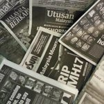 Malaysian mainstream newspapers also in grief #MH17 http://t.co/jlmviNe2vd