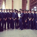 That boy in the middle among all the pilots is MH17s co-captains son. Hes only 8-months old. This makes me sad... http://t.co/Pj2fs0uElc