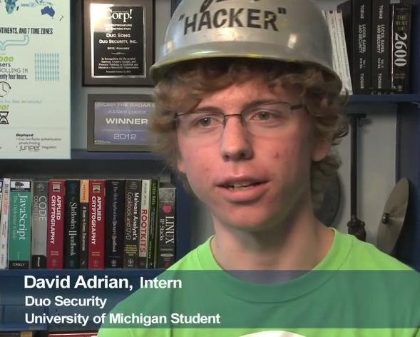 Former @duosec intern @davidcadrian scans the Internet in < 5 minutes! https://t.co/NfHW9fc3An And wears silly hats http://t.co/pk1uBmhxY7
