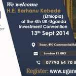 Learn from the experts and ask them your questions about investing in Uganda. FREE ticket http://t.co/YgGmDAVp21 http://t.co/G1o0DJbHE5