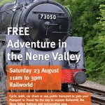 Wondering what to do this weekend? How about a FREE Adventure in the Nene Valley http://t.co/puqiuhHLfp http://t.co/rLztqEcpON
