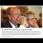 Por cierto, que ayer un becario de El Norte de Castilla se glorificó en todo su ser http://t.co/CZOrSVI6S8