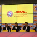 RT @FCBayern: Der #FCBayern freut sich, mit @DeutschePostDHL einen neuen Partner bekannt zu geben. #FCBPK: http://t.co/Jci53tD2db http://t.co/3AjcvRPEGk