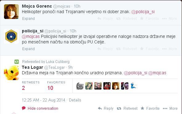 I lol'd. @policija_si,  you funny! http://t.co/6IvVCc5uCo