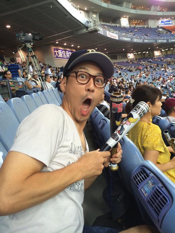 次はオリックスだ〜!!!金子さん勝って〜!ヘルマンさん打って〜! http://t.co/dFbOOwkWwL