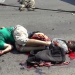 RT @vikakaliningrad: Когда же фашисты напьются кровью невинно убиенных?! Луганск 13.08 #Хунтаубийца http://t.co/FMUFCZZ45j