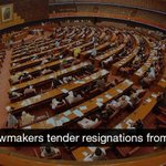 RT @dawn_com: PTI lawmakers tender resignations from NA | http://t.co/HSHwykzzn3 http://t.co/JN3SuZvFKz