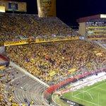 General Carlos Muñoz ayer en el Estadio Monumental. Barcelona 3 Alianza Lima 0 Copa Sudamericana http://t.co/9eKpvuYz12