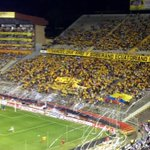 General Pajarito Cantos ayer en el Estadio Monumental Barcelona 3 Alianza Lima 0 Copa Sudamericana @zona15norte http://t.co/kgKorVsPDl
