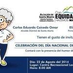 RT @Asocapitales: @carlosecaicedo @SantaMartaDTCH bienestar adultos mayores: tarea prioritaria alcaldías...Más vida a los años... http://t.co/vB28kO5R5u