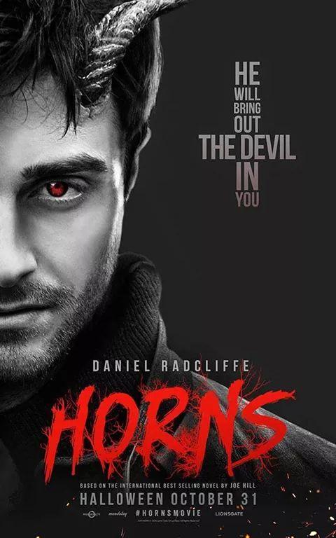 """Das brandneue offizielle UK Poster für """"Horns""""! http://t.co/BbKuH26POG"""
