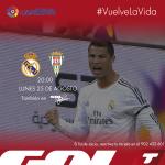 RT @Gol_Television: ¡#ElPartidazo de la jornada se juega el lunes! ¿Habrá sorpresa en el Santiago Bernabéu? #VuelveLaVida http://t.co/qyo2N6y9pZ