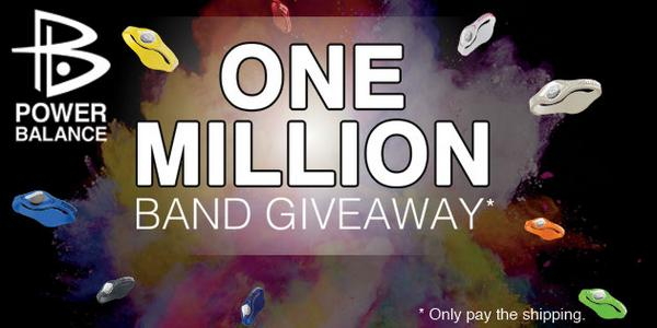 We're giving away a million wristbands! (Just pay shipping.) Check it out! http://t.co/e9MCZLgOBh http://t.co/Uc72q8odSv