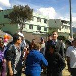 Alcalde @MauricioRodasEC realiza entrega a la comunidad el parque #Matovelle http://t.co/qdEuG5ypz9
