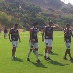 #BSC entrena esta mañana luego del triunfo de anoche 3-0 sobre Alianza Lima en #Sudamericana. http://t.co/7aKk7m4qNY vía @MarthaMurgaT