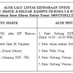 RT @EM_UBOfficial: Alur Pintu Masuk & Alur Pintu Keluar Universitas Brawijaya. Bantu RT ya :) #LalinUB http://t.co/2PS4k65W6A