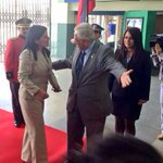 José Bolívar Castillo, Alcalde @municipiodeloja da la bienvenida a Ministra @LorenaTapiaN en su visita a la provincia http://t.co/yz6aLC8IDj