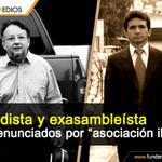#Ecuador Periodista .@PalacioEmilio y exasambelísta.@Clverjimnez fueron denunciados penalmente http://t.co/s3ahAY1sLB http://t.co/UxmU2rlJRs