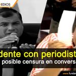RT @FUNDAMEDIOS: #Ecuador .@MashiRafael se negó a responder pregunta de .@Paulina_Bustama, en conversatorio http://t.co/jMyz2pTpxr http://t.co/IgGO56lyOv