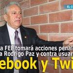 La FEF seguirá acciones legales contra Paz y contra usuarios de redes sociales » http://t.co/axvoJ1dd6R http://t.co/k2uPnmmFCp