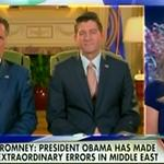 Mitt Romney and Paul Ryan return to Fox, promptly get the facts wrong on Iraq http://t.co/oCL1tepFHP http://t.co/hrXla9nV45