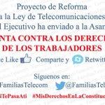 Reforma a #LeyTelecom es ILEGAL y vulnera Derechos @FaustoCayambeT @GozosoAndrade @lautarosaenz_z @MashiRafael http://t.co/UjHoGt4MBc
