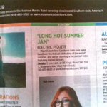 RT @ElectricPiquete: Thanx to the @MiamiHerald for the <3 about the Long Hot Summer Jam at @BBKingsWestPalm! #Latinfunk #Miami http://t.co/TduwcpqRLd