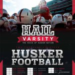 Hail Varsity posters are done! Available soon at Madonna, @NebraskaBookCo & #BigRedWelcome! #Huskers http://t.co/P5YIQbTdWh