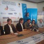 Inicia rueda de prensa de la @FETenis para la presentación de los Torneos Futuros 4, 5 y 6 en Quito e Ibarra #tenis http://t.co/QnkfdIvCCh