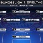RT @samuelJayC: Bayern v Wolfsburg kicks off the 2014/15 Bundesliga season. Pep going 3-4-3. Luiz Gustavo starts for visitors. http://t.co/63RBMKalD4
