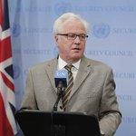 Виталий Чуркин: Гуманитарный конвой мог пересечь границу Украины намного раньше http://t.co/RW6k6crKWp http://t.co/DGx6axC7Ib