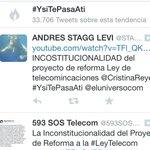 RT @YSiTePasaATi: Somos tendencia una vez más. Sigue tuiteando por que las utilidades son nuestro derecho justo #YsiTePasaAti http://t.co/mT8aubSuIT