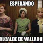"""Esperando al alcalde de Valladolid"" Buenísimo! #NoEsNo #noestasola http://t.co/mBpPRZPiSy"