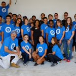 RT @URM: The @Dodgers Foundation came out in force w/ @HabitatLA & @ecovations to paint our learning center in #Dodgers Colors http://t.co/AWuIUyheoe