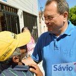 Caminhando pelas ruas de São José do Campestre, ouvindo os anseios do povo. #Savo1212 http://t.co/i9WeawiiUd